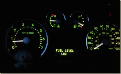 Fuel Level Low - Oh no!