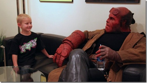 Ron Perlman visits Zachary