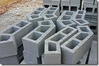 Angled blocks