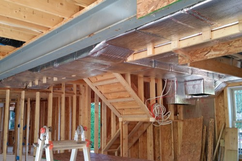 HVAC duct work