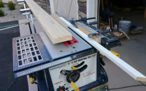 Harbor Freight table saw rip fence