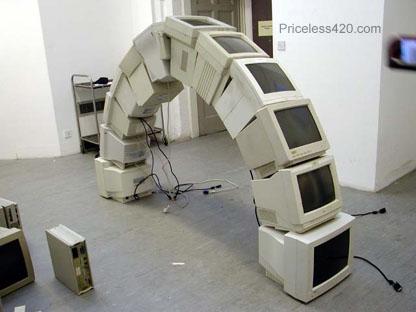 Computer Monitor Arch