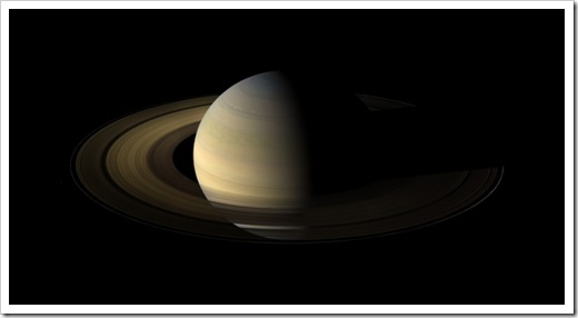 Saturn imaged by Cassini