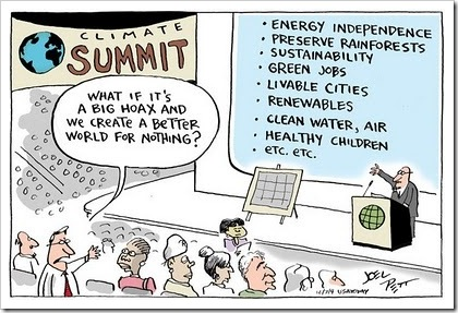 Climate Change Deniers - The Bottom Line