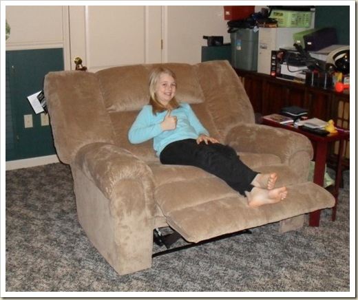 The Cuddle Recliner