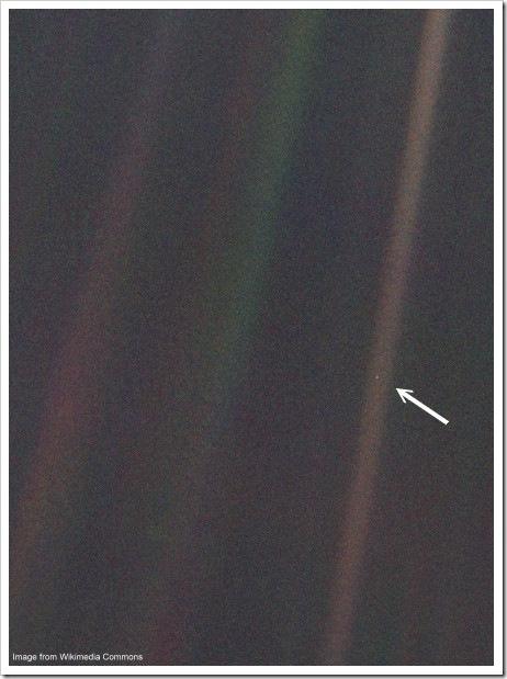 Voyager 1 - Pale Blue Dot