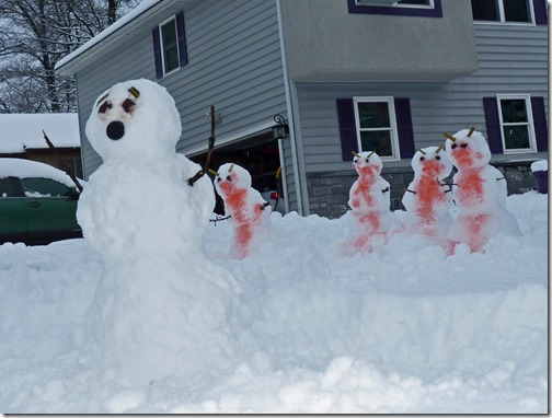 Snow Day Zombies
