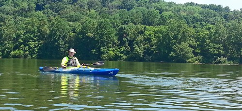 Rare photographic evidence of me in a kayak