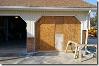 No more garage door!