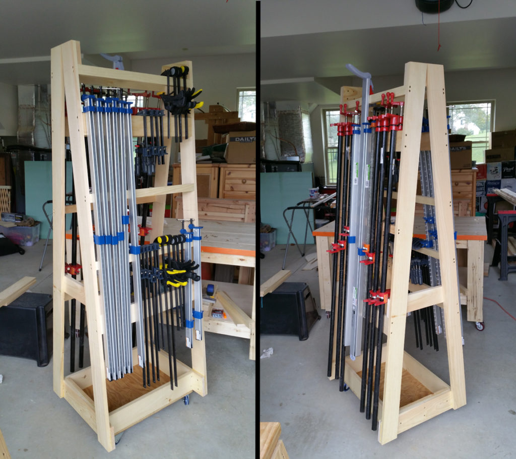 Rolling Clamp Rack