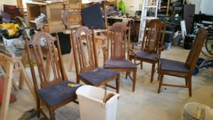 Salvation Army Chairs